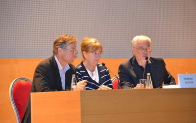 s lijeva prof. Reinhard Schmidt (Aus), prof. Maja Relja (Cro), prof, Zvezdan Pirtošek (Slo)