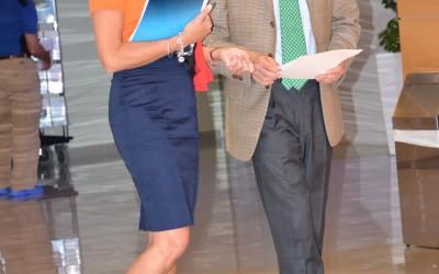 Monika Benson i prof. Antonio Pisano (Ita)