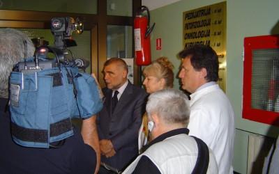 Predsjednik RH Stjepan Mesić u posjeti bolesnicima (3)